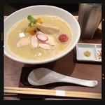 銀座 篝 - 鶏白湯SOBA 1000円