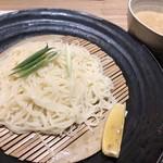 食事処 ニュー因幡 - 特製 博多細うどん