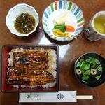 万両 - 料理写真:鰻重竹 3240円