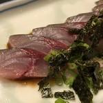 101857710 - *主人が頂きましたが、長浜市場から直接仕入れられた新鮮な鯖&タレの味わいがよく美味しいと。