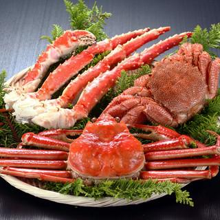 贅沢な蟹料理を存分に当店で堪能下さい!