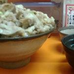 吉祥寺どんぶり - 吉祥寺どんぶり 醤油にんにく丼(肉がっつり)