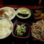 はんば亭 - 090912 天空蕎麦定食