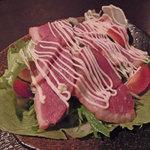 9回裏 - 鴨肉のサラダ