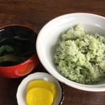 松野屋 - 菜めし 最強に美味いで ボリュームもあるし