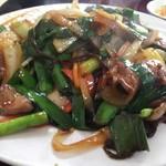 中華料理 阿Q - レバニラ炒め850+定食210