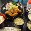 うなぎのまるます家 - 料理写真:【三陸産生牡蠣使用のかきフライセット】税込¥1,320