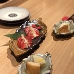 日本酒バル どろん - ガリトマト