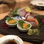 日本酒バル どろん - 刺し盛り