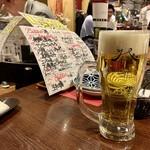 ビストロ椿 - ドリンク写真:ザ・プレミアムモルツ生ビール