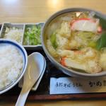 101864473 - 志の田きしめん+ランチライス(無料)