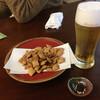 手打蕎麦 大江戸 - 料理写真:そばチップス360円 生ビール600円 お通しのお味噌