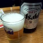 101866500 - 瓶ビール 500円
