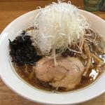 麺処あずき - 料理写真:ネギらーめん