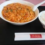 玲瓏閣 - 酸辣麺(サンラーメン) 850円 ライス +180円