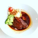 IKEAレストラン - 牛肉ほほ肉のシチュー赤ワイン 煮込み。