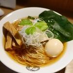 麺処 鶴舞屋 - 料理写真:煮干し+メンマ+味玉