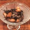海鮮中国料理黄河 - 料理写真:新物の千葉県産落花生と生ヒジキの煮物