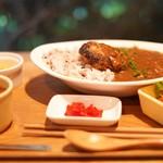 nori蔵 - 料理写真:とうふ入りハンバーグカレー☆