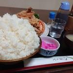 嵯峨野 - ご飯アホほど盛ってありました