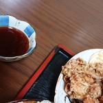 嵯峨野 - 甘酢タレを頂いちゃいました