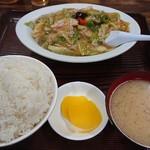 文田食堂 - 料理写真:肉うま煮定食ご飯大盛り