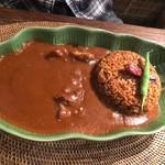 アジアンオールドバザール ウブドレストラン - 地獄のマグマカレー