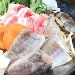 しゃぶから - 旬の魚を使った海鮮鍋☆この時期には最適!