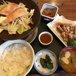 梵天食堂 - ちゃんちゃん焼ランチ880円です