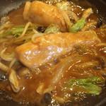 梵天食堂 - 鮭のちゃんちゃん焼きのアップです