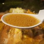 ラーメン 空 - スペシャルらーめん【味噌】(スープ)