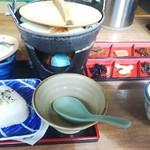 かくまさ - 鍋焼きだんご汁    650円