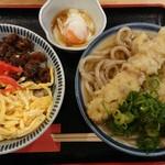 うどん 讃く - 『あさり飯定食(税込み650円)』