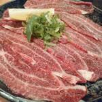 お肉屋さんの焼肉 まるやす - ツラミ(1人前)