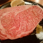 お肉屋さんの焼肉 まるやす - 特上ロース(1人前)リブ芯ですね
