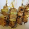 稲毛屋 - 料理写真:にんにくもも肉、ねぎま