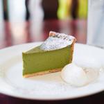 エーテル - 料理写真:西尾抹茶のチーズケーキ