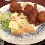 レストラン艸葉 - カキフライ