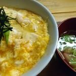 丼や - 料理写真:親子丼+お吸い物