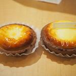 きのとや - 焼きたてチーズタルト、ブルーベリーチーズタルト
