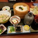 美々卯 - 料理写真:京ゆばセット