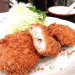 とんかつキッチンかつ茂 - ヒレカツ定食¥880