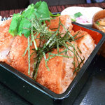 とんかつキッチンかつ茂 - おすすめヒレたれかつ重¥850