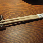 Ramu Tokyo - 箸置きが、ボルト&ナット!