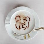 Teddy's Garden - ドリンク写真:カフェラテ☆