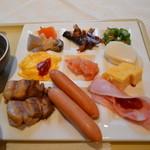 西海橋コラソンホテル - 色んな食材を少しずつ