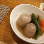 ケールイス - 本日の小鉢は里芋