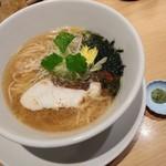 うまい麺には福来たる 西大橋店 - 鯛塩らーめん800円
