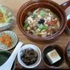 ジーン カフェ - 料理写真:ランチ 豚バラ肉とくずし豆腐の野菜あんかけご飯