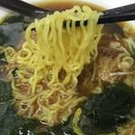 大江戸そば - 煮干し中華麺